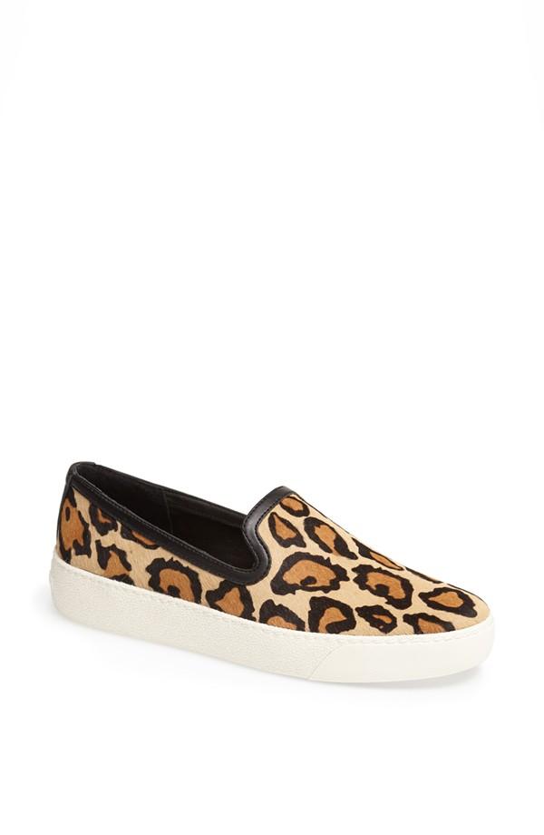 Sam Edelman Leopard Slip-ons