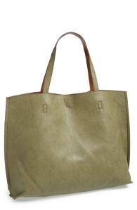 olive green tote