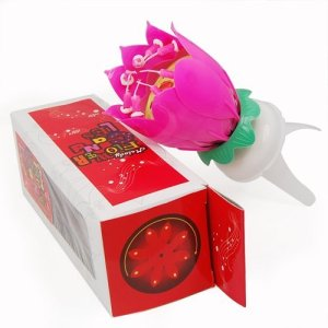 SPARKLING LOTUS CANDLE