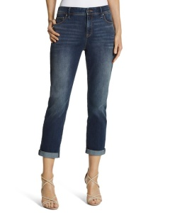 12. Chicos So Slimming Girlfriend Jeans
