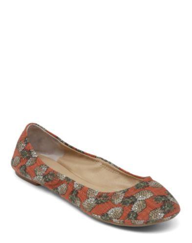 8.Lucky Brand Emmie Flats
