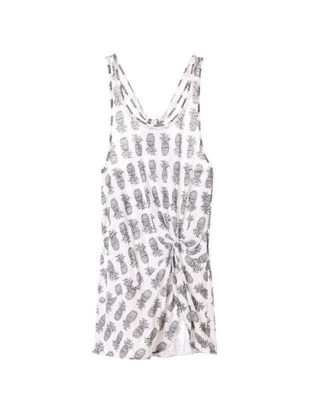 12.Victorias Secret Knotted Tank Cover-up